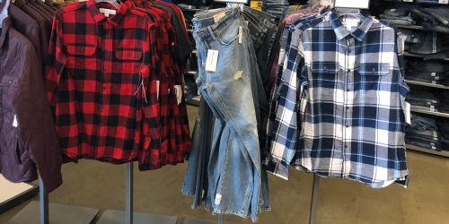 Old Navy Flannel Shirts $8 – $10 (Regularly up to $30)