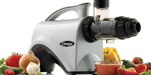 Omega Juice Extractor & Nutrition Center Only $230.96 Shipped at Amazon | Makes Nut Butter, Grinds Coffee & More