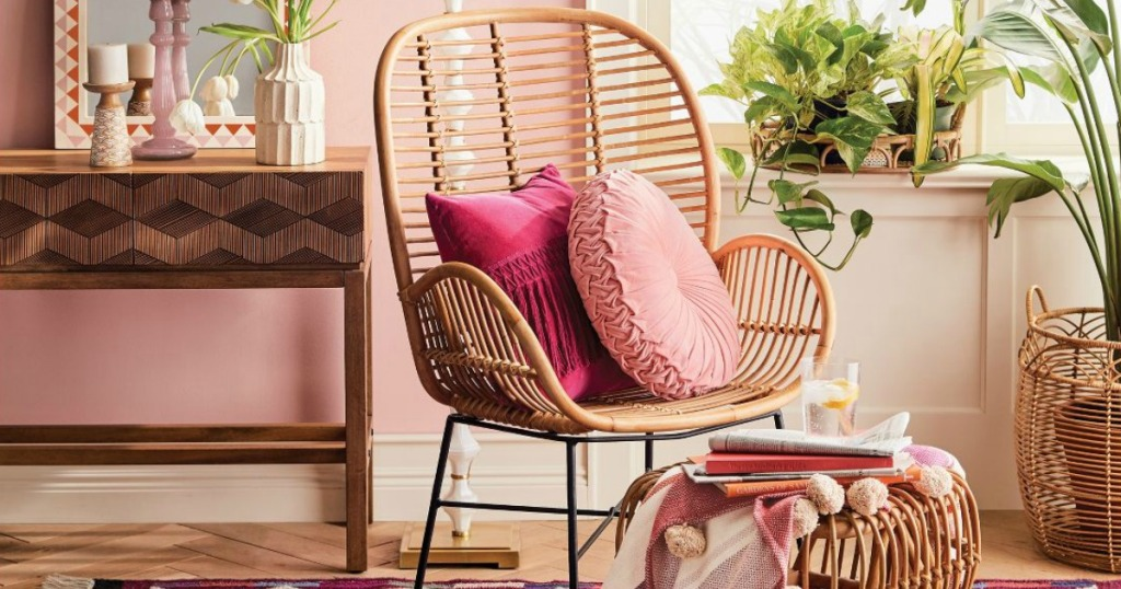 Opalhouse Lily Rattan Chair