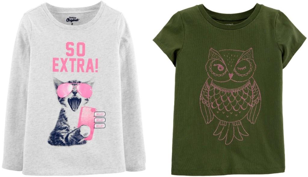 Oshkosh B'gosh Girls Shirts