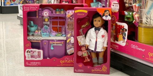 Our Generation Dolls as Low as $17.59 at Target (Regularly $25+) | In Stores & Online