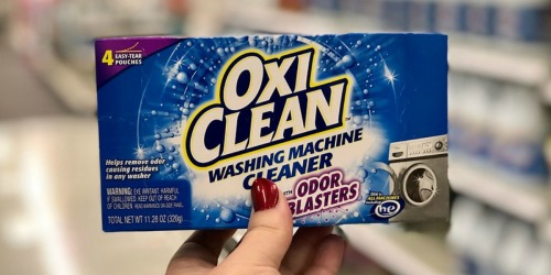 OxiClean Washing Machine Cleaner & Odor Blaster 8-Count Only $9 Shipped at Amazon