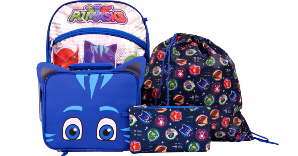 PJ Masks 5-Piece Backpack Set at Kohls