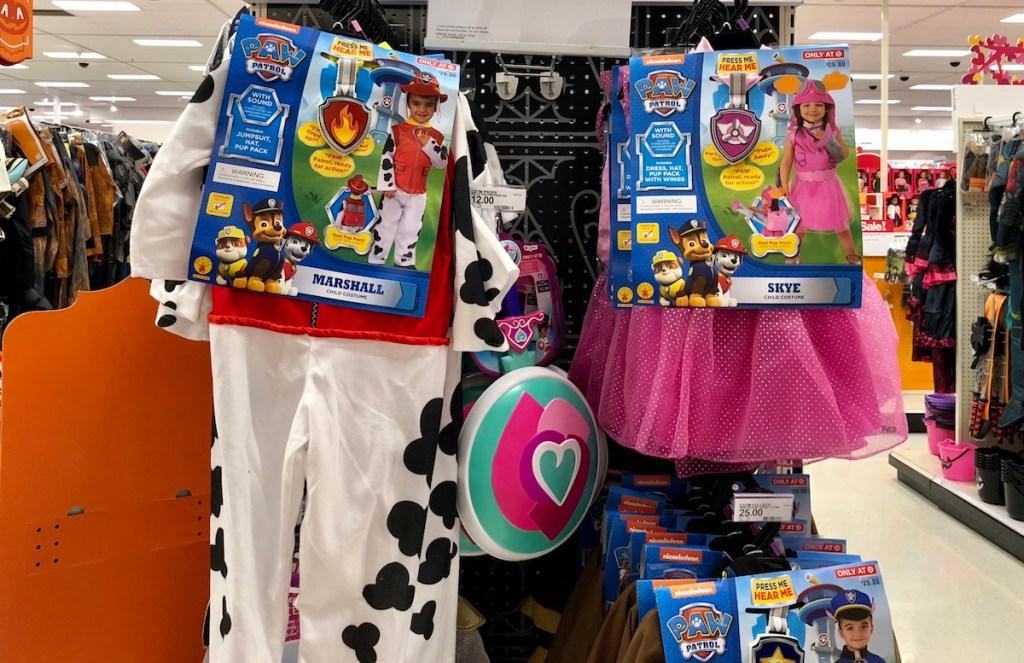 Paw Patrol Costumes at Target