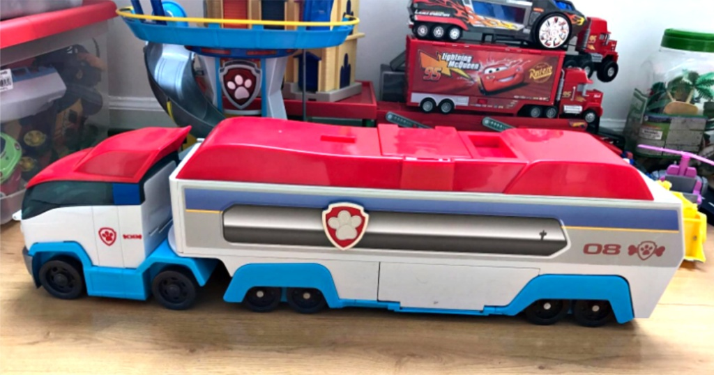 paw patrol transport vehicle toy