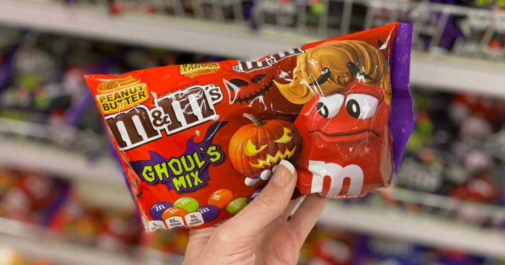 Peanut Butter flavored M&Ms candies