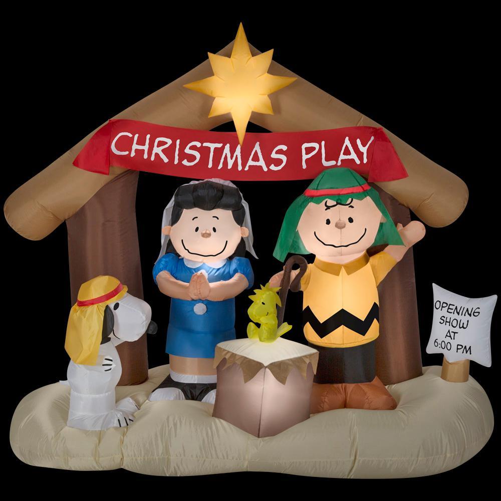 Peanuts Gang Nativity