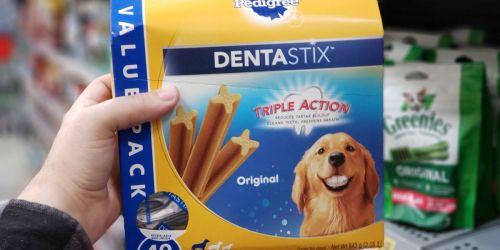 Pedigree Dentastix Small Dog Chew Treats 108-Count Only $9.96 Shipped on Amazon (Regularly $16)
