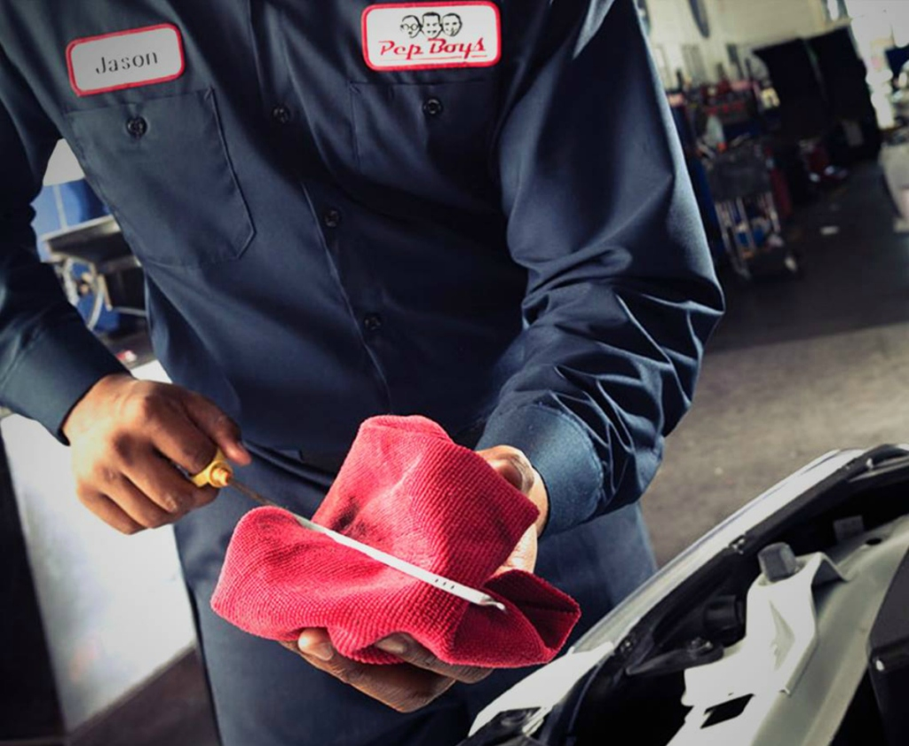 Pep Boys auto technician