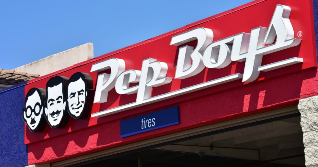 Pep Boys oil changes