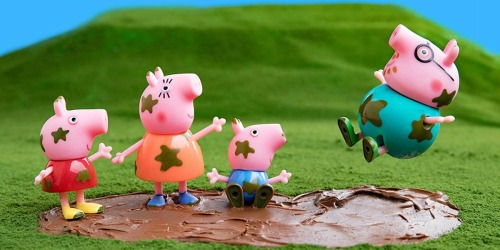 Peppa Pig Muddy Puddles Figure Set Only $5.50 (Regularly $11) + More