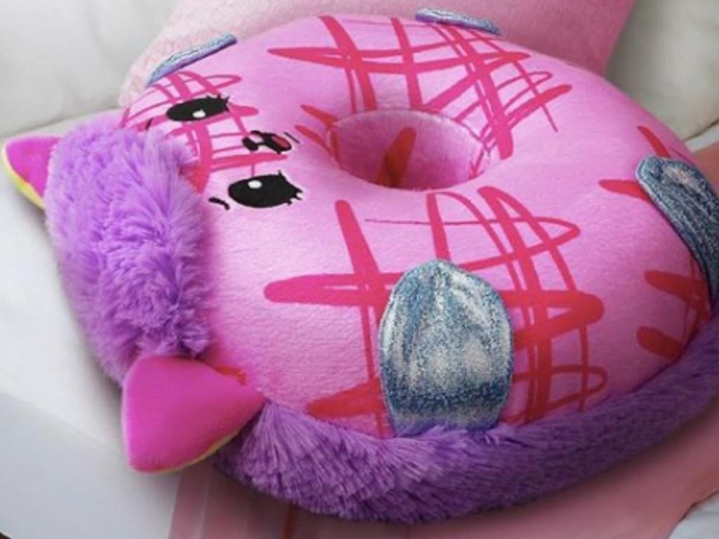 Pikmi Pop Doughmi Hedgehog plush