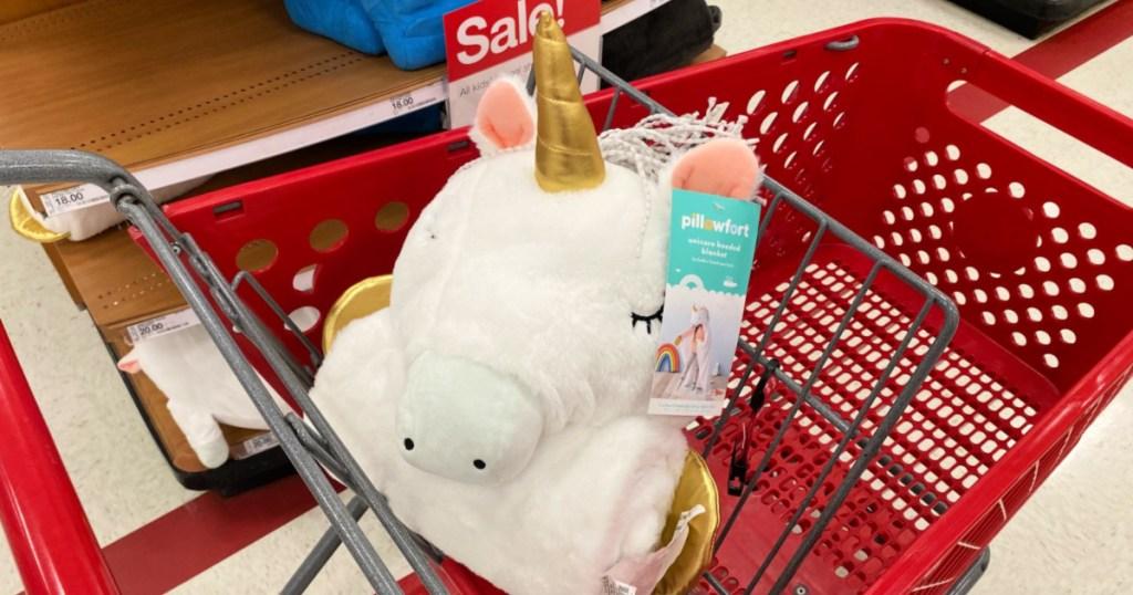 Pillowfort Unicorn Hooded Blanket