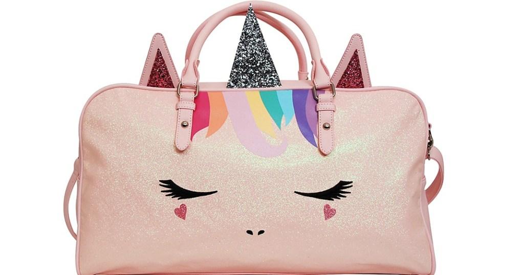 Pink Unicorn Duffel Bag