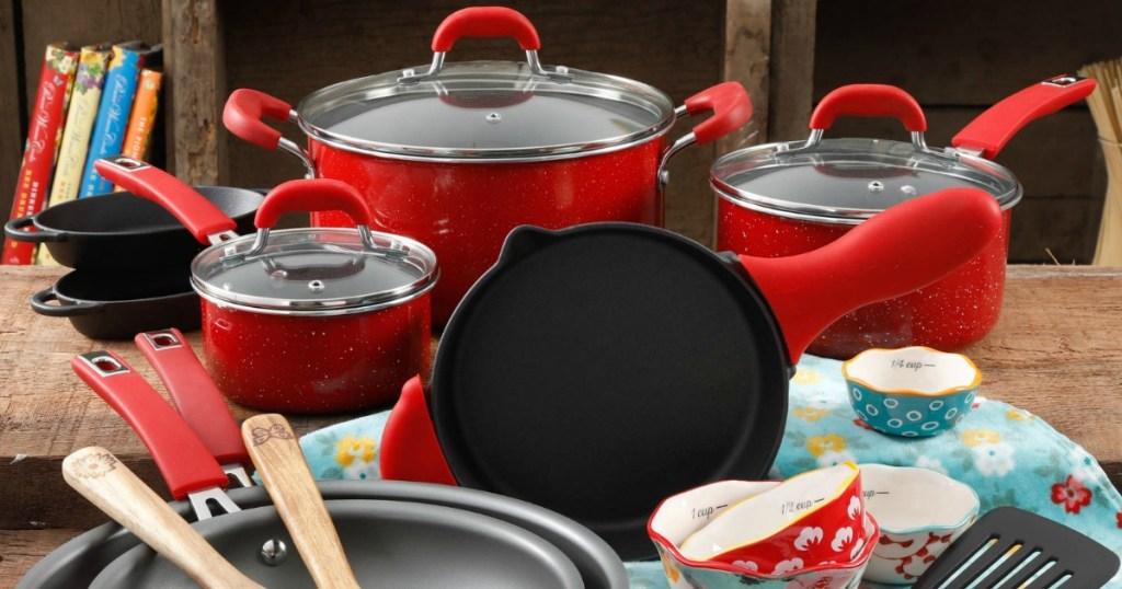 Pioneer Woman Cookware 24-Piece Set