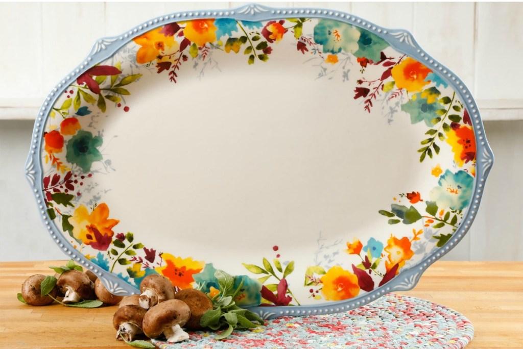 Pioneer Woman oval platter
