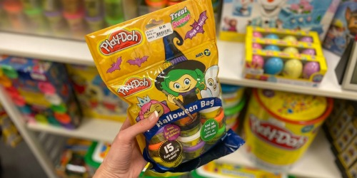 Hasbro Play-Doh 15-Count Halloween Fun-Sized Cans Just $4.49 Shipped for Kohl's Cardholders