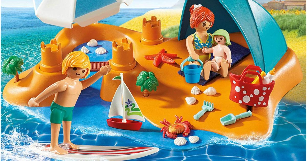 Playmobil Family Beach Day Building Set