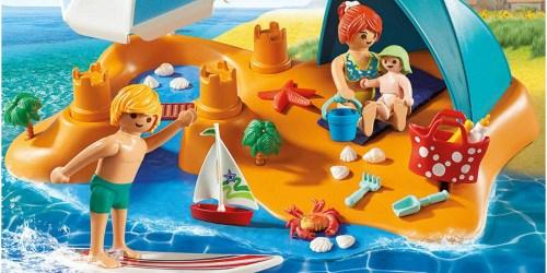 Playmobil Family Beach Day Building SetOnly $11.49 (Regularly $25)