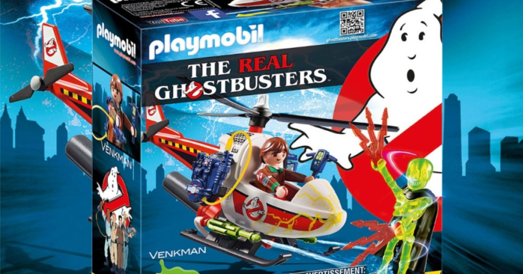 playmobil the real ghostbusters set