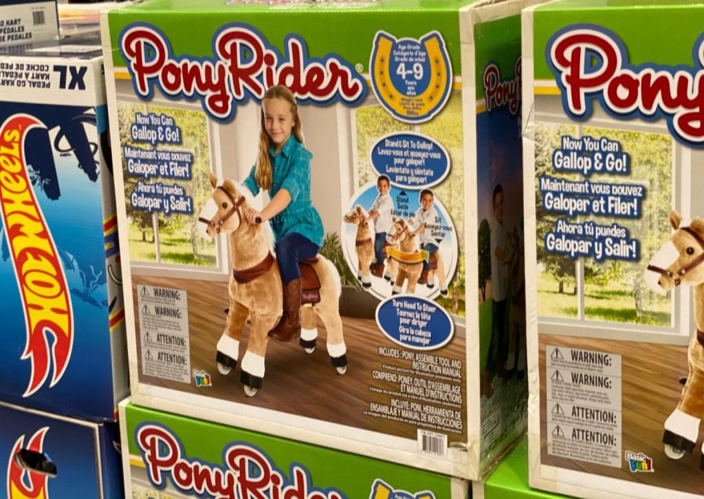 Pony Rider at Costco