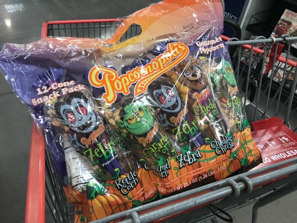 Popcornopolis Snack Pack at Costco