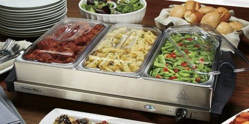 Buffet Server & Food Warming Tray Just $34.99 Shipped at Amazon (Regularly $75)