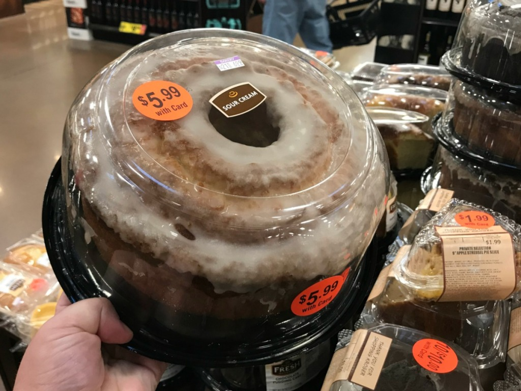 Pudding Cake at Kroger