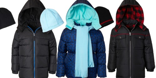 Toddler & Kids Puffer Coat Sets Only $16.99 at Zulily (Regularly $45)