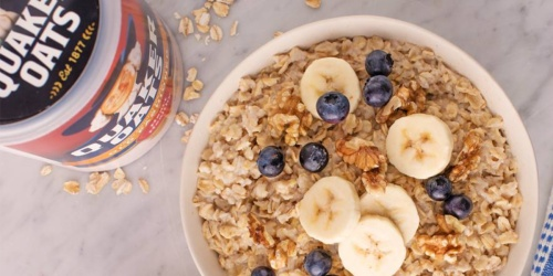 Quaker Old Fashioned Rolled Oats 8-Pounds Only $7.47 Shipped at Amazon