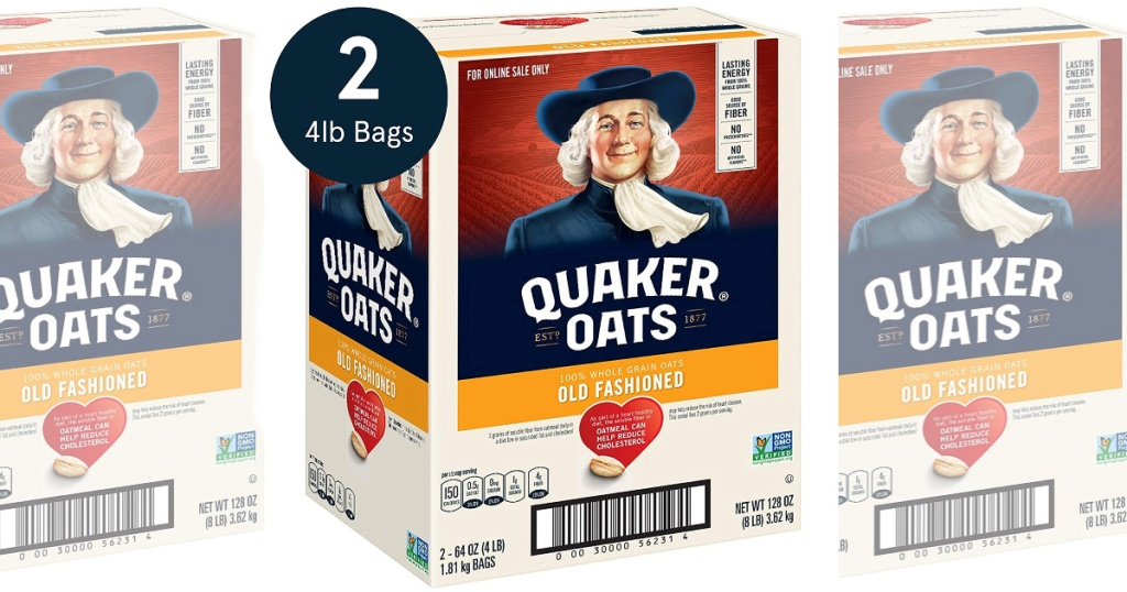 8-lbs Quaker Old Fashioned Rolled Oats
