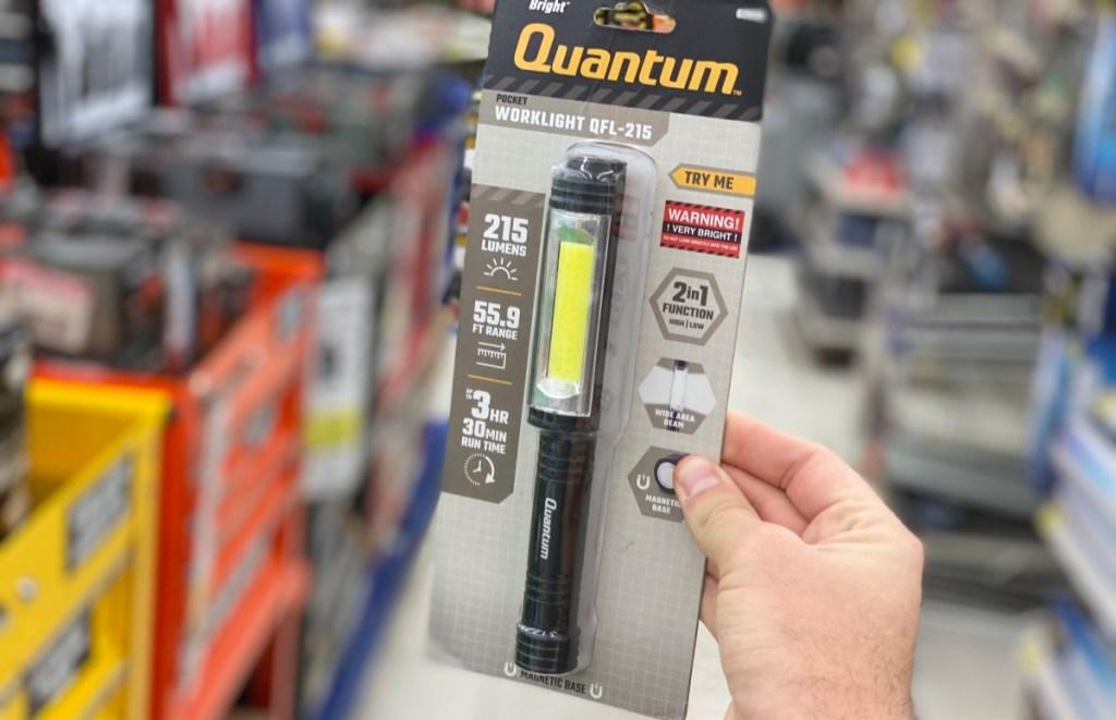 Quantum Work Light