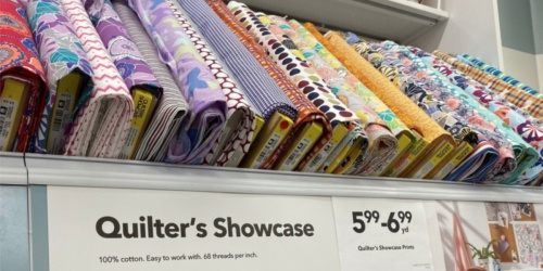 Quilter's Showcase Fabric as Low as $1.79 Per Yard at JoAnn Fabric (Regularly $5.99+)