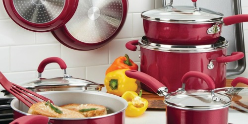 Rachael Ray 13-Piece Cookware Set as Low as $61 Shipped After Rebate + Get $10 Kohl's Cash