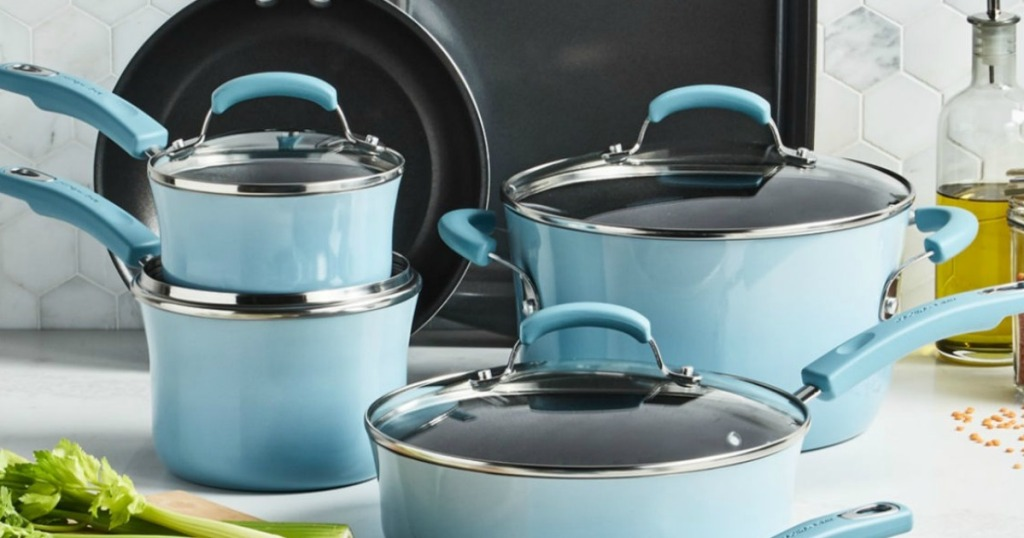 Rachael Ray Teal Cookware