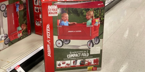 Radio Flyer 3-in-1 EZ Fold Wagon w/ Canopy Just $79 Shipped on Amazon (Regularly $110)