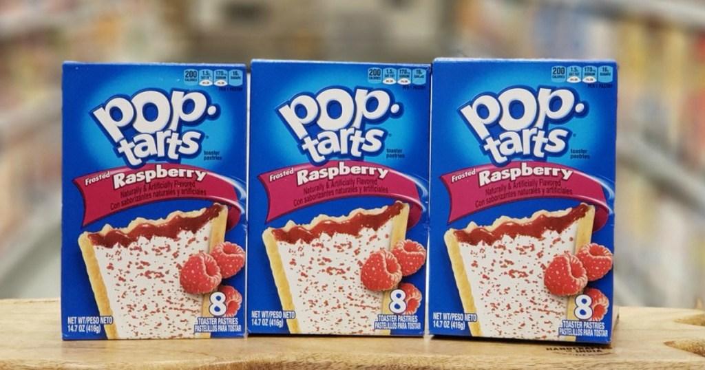 Raspberry Pop-Tarts at Target