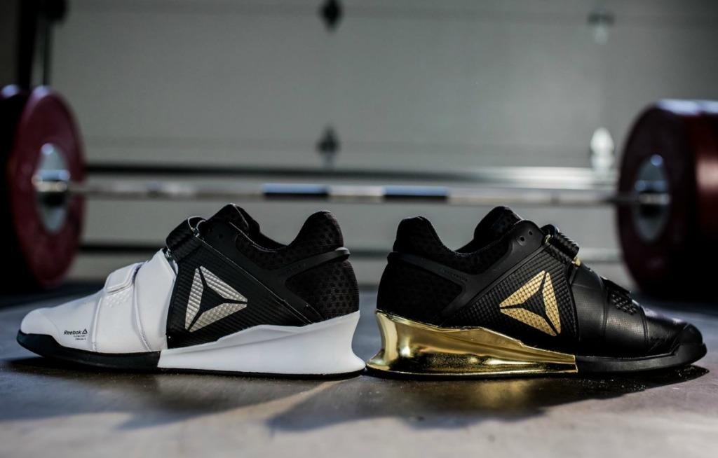 Reebok Legacy Lifter Shoes in Weight room