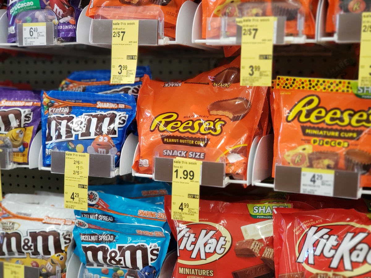 Reese's Snack Size Bags at Walgreens