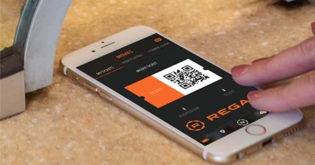 Regal Cinemas app