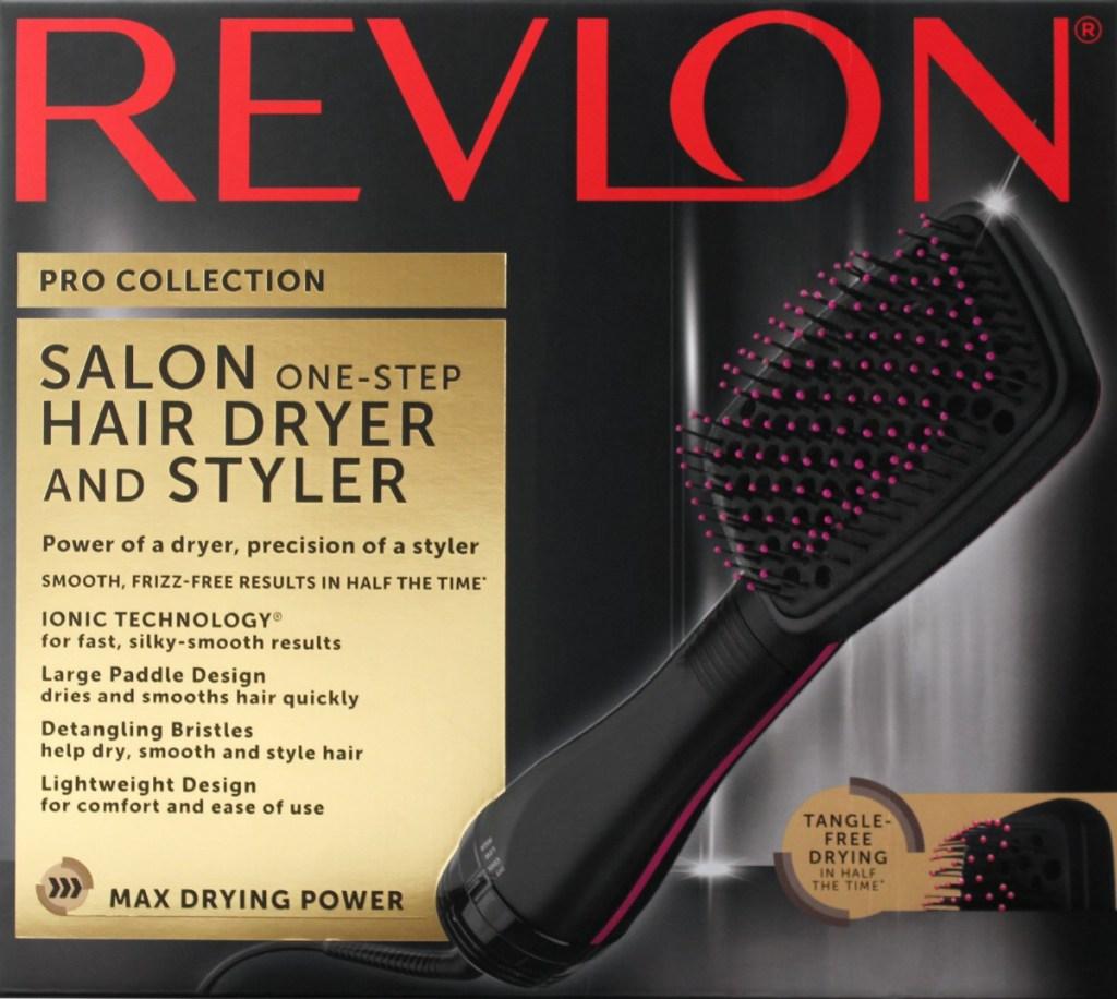 Revlon paddle dryer brush in box