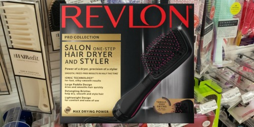 Revlon One-Step Paddle Dryer Only $14.99 at ULTA (Regularly $40)