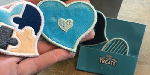 FREE Sensory Love Note Stickers from Rice Krispies Treats | Designed For Kids on Autism Spectrum