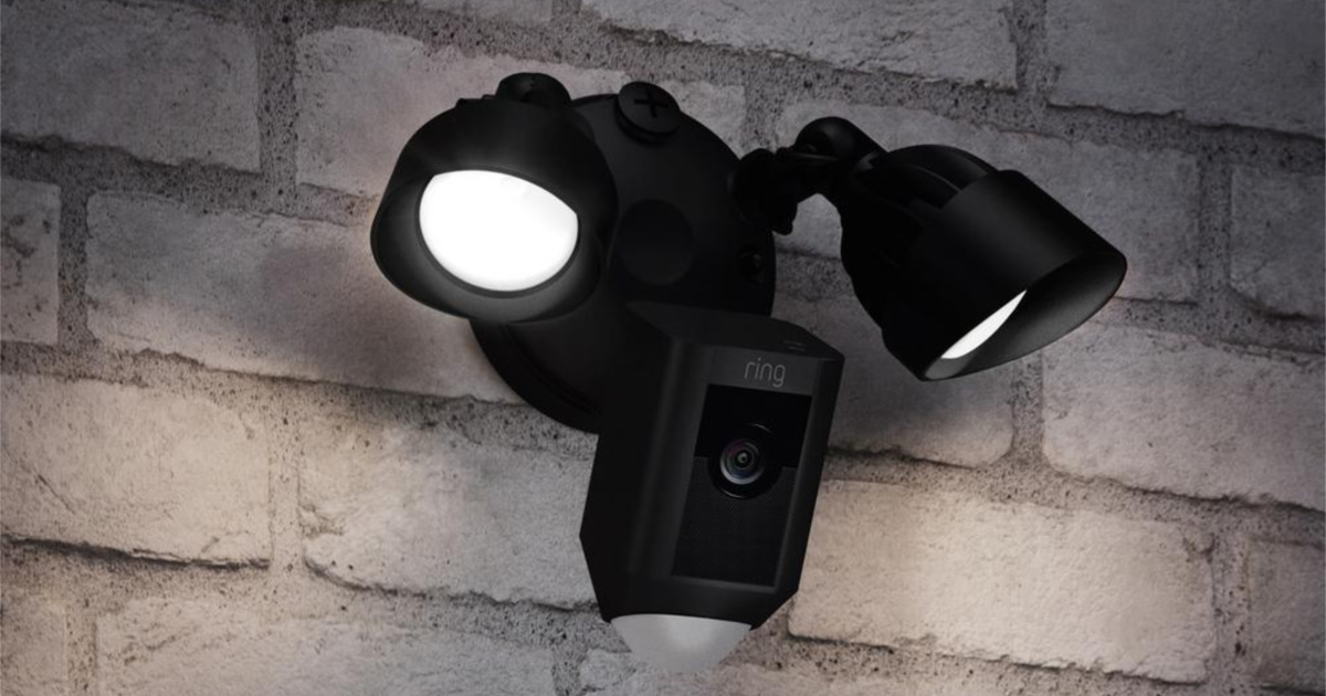 ring outdoor wifi cam motion activated floodlight