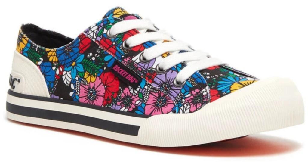 rocket dog jazzin floral sneaker