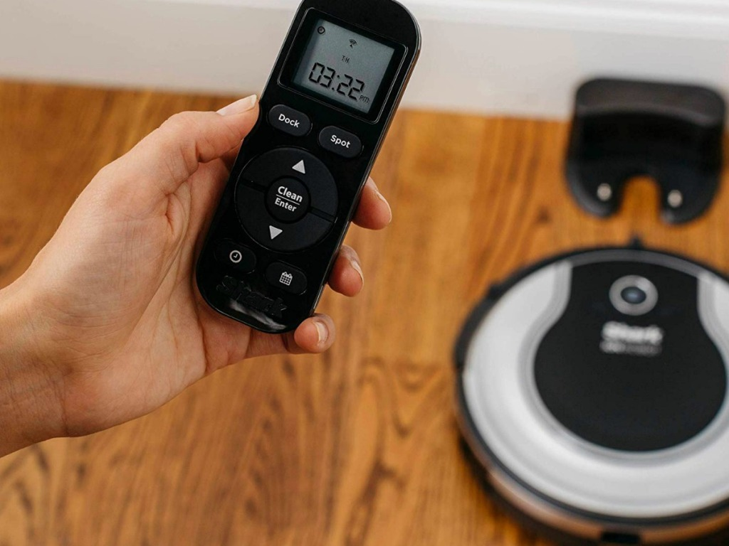Shark ION Robot vacuum coming off charge