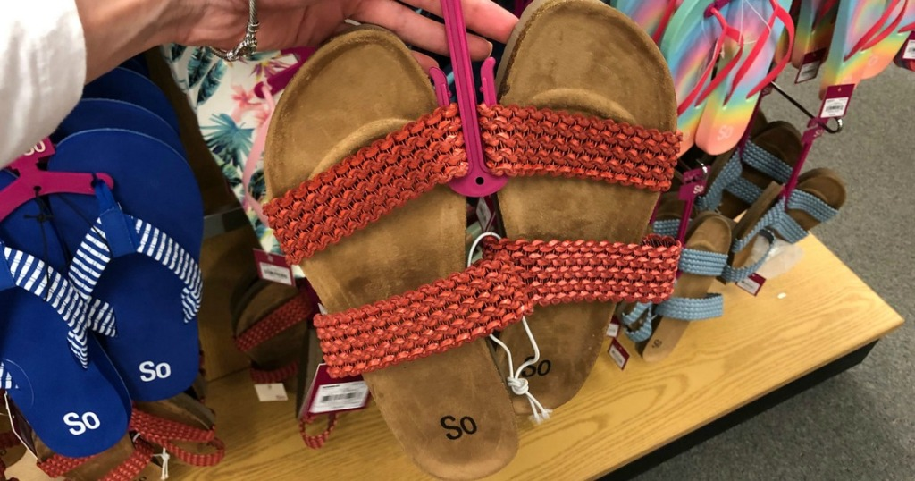 SO sandals clearance