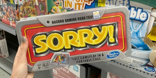 80% Off Hasbro Travel Games at Walmart | Sorry! & Connect 4