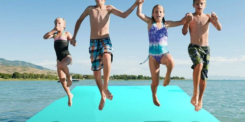 Huge Floating Water Pad Just $319.99 Shipped at Amazon | Holds up to 20 Kids