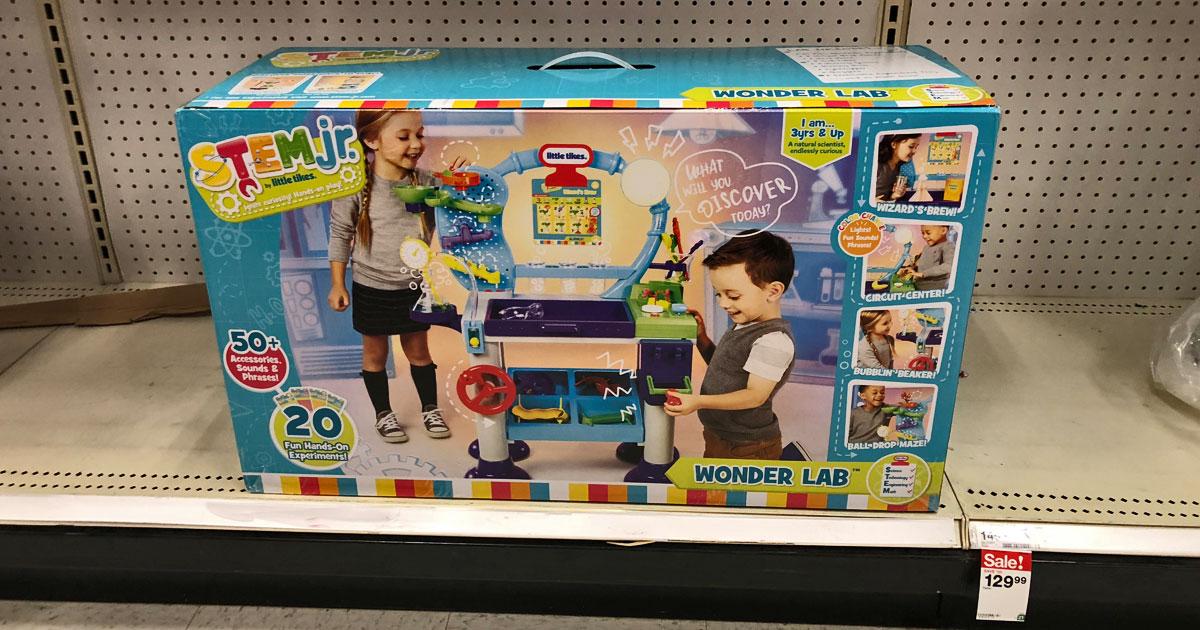 Little Tikes Stem Jr Wonder Lab toy on shelf at Target